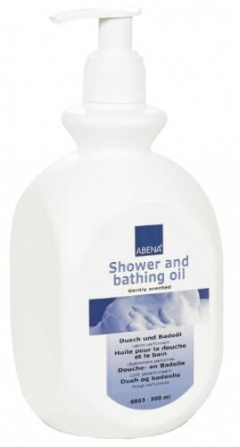 abena frantex huile pour la douche et le bain pour peaux sensibles et s ches 500ml. Black Bedroom Furniture Sets. Home Design Ideas