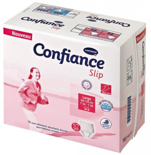 hartmann confiance slip large couche culotte hartmann incontinence urinaire. Black Bedroom Furniture Sets. Home Design Ideas
