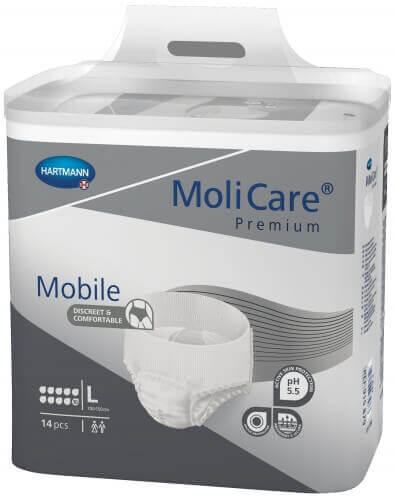 hartmann molicare mobile large 10 gouttes slip absorbant hartmann incontinence. Black Bedroom Furniture Sets. Home Design Ideas
