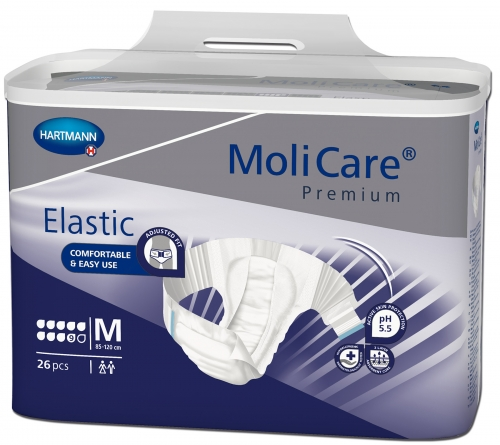 hartmann molicare premium elastic medium 9 gouttes changes complets hartmann incontinence. Black Bedroom Furniture Sets. Home Design Ideas