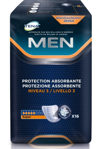 tena men niveau 3 protection urinaire tena incontinence. Black Bedroom Furniture Sets. Home Design Ideas