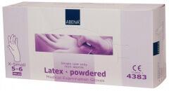 Abena-Frantex Gants latex avec poudre (Taille 5-6)