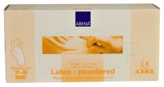 Abena-Frantex Gants latex avec poudre (Taille 7-8)