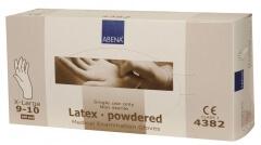 Abena-Frantex Gants latex avec poudre (Taille 9-10)