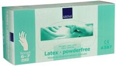 Abena-Frantex Gants latex sans poudre (Taille 6-7)