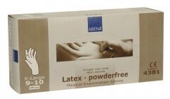 Abena-Frantex Gants latex sans poudre (Taille 9-10)