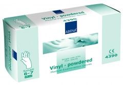 Abena-Frantex Gants vinyle avec poudre (Taille 6-7)