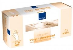 Abena-Frantex Gants vinyle avec poudre (Taille 7-8)