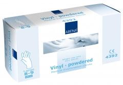 Abena-Frantex Gants vinyle avec poudre (Taille 8-9)