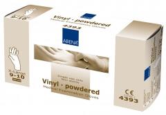 Abena-Frantex Gants vinyle avec poudre (Taille 9-10)