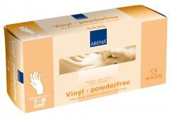 Abena-Frantex Gants vinyle sans poudre (Taille 7-8)