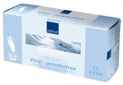 Abena-Frantex Gants vinyle sans poudre (Taille 8-9)