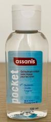 Assanis Gel hydroalcoolique antibactérien 100 ml