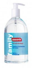 Assanis Gel hydroalcoolique antibactérien 500 ml
