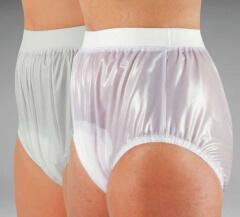 Culotte plastique fermée à élastiques larges