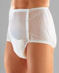 Culotte plastique ouvrante sur le devant