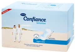 Hartmann Confiance Sensitive Légère extra (bleu)