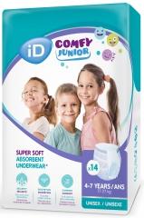 Ontex-ID Comfy Junior 4 - 7 ans Pants