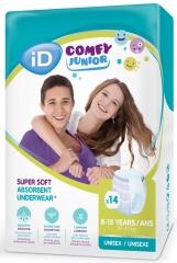 Ontex-ID Comfy Junior 8 - 15 ans Pants
