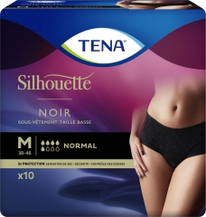 Tena Silhouette Medium Normal Noir
