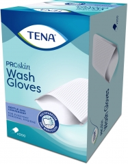 Tena Wash Gloves Non Plastifié