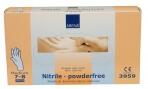 Abena-Frantex Gants nitrile sans poudre qualité supérieure Taille 7-8 (Medium)