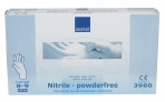 Abena-Frantex Gants nitrile sans poudre qualité supérieure Taille 8-9 (Large)