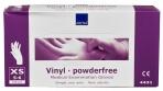 Abena-Frantex Gants vinyle sans poudre (Taille 5-6)