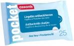 Assanis Lingettes antibactériennes Family par 25