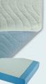 Couvre-lit lavable avec ailettes 80 x 90