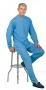 Solaise Grenouill�re ouvrante aux jambes 42/44 Bleu Marine